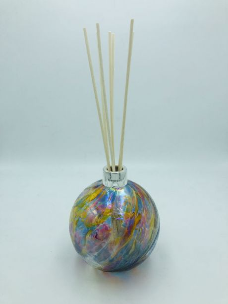 Glass Diffuser with Sterling Silver Mount